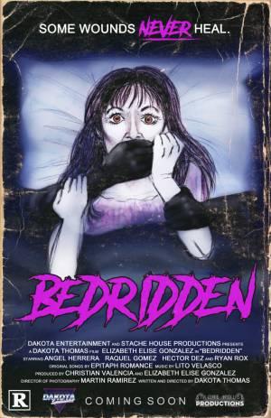 Bedridden-movie-film-horror-thriller-2021-Dakota-Thomas-poster
