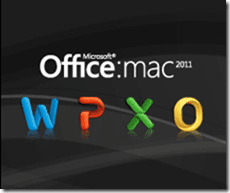 Office Mac 2011 Logo
