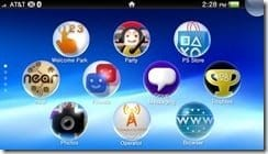 Vita Home Screen