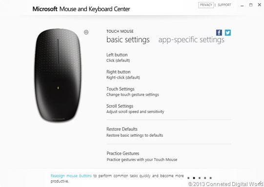 CDW Microsoft Mouse and Keyboard Center - 5