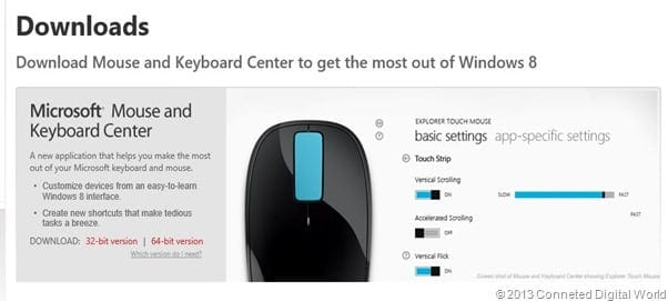 CDW Microsoft Mouse and Keyboard Center - 7