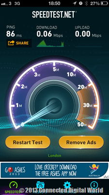 CDW - EE Speed Test -5
