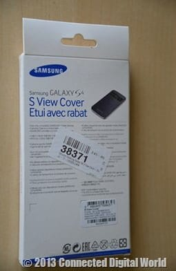 CDW Review Samsung Galaxy S4 S View Cover - 3