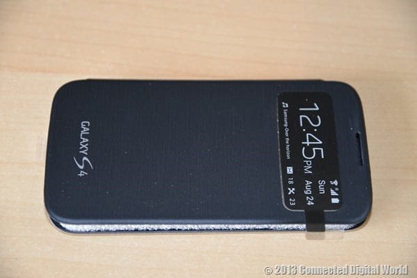 CDW Review Samsung Galaxy S4 S View Cover - 6