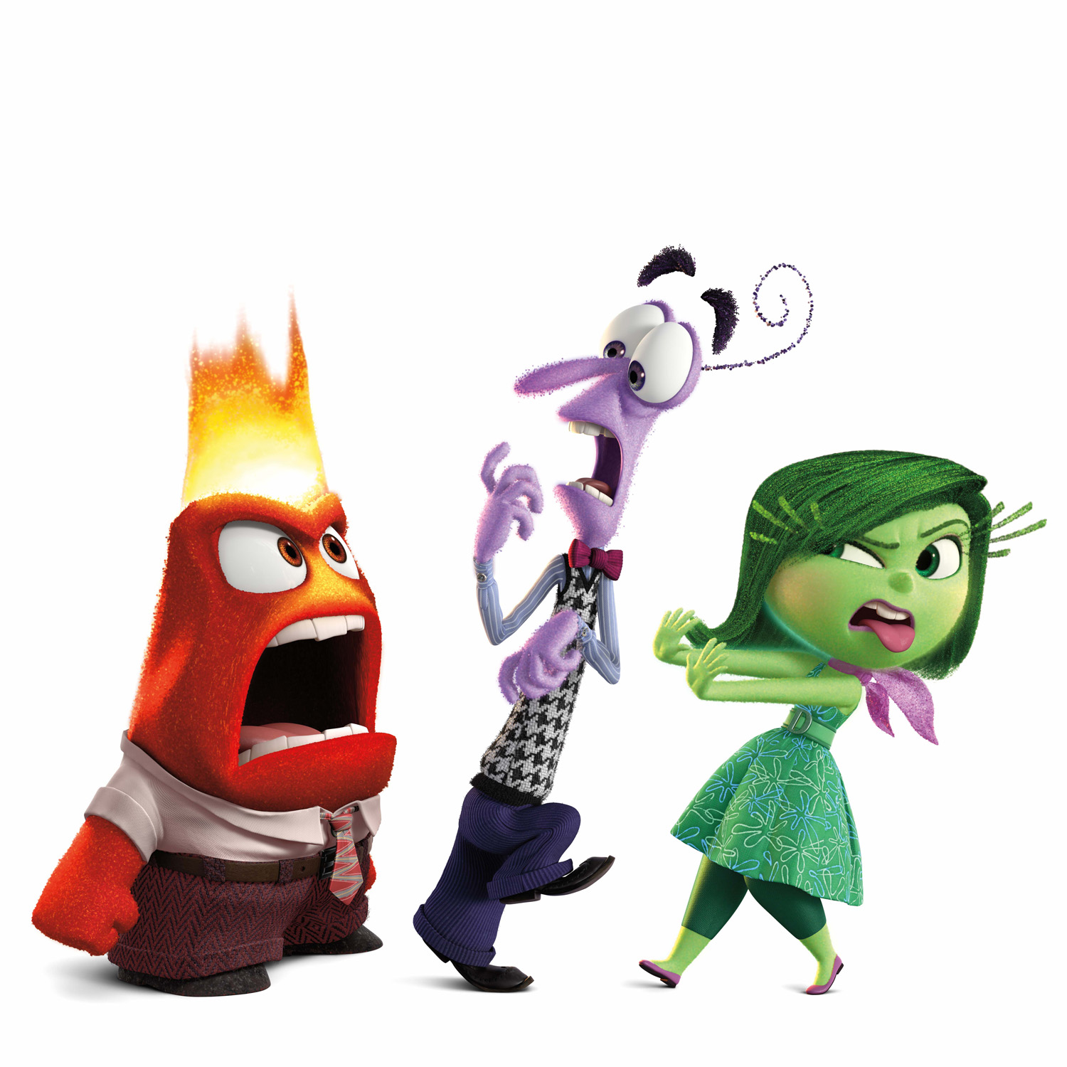 Inside Out Unfolds Through The Eyes Of Five Emotions