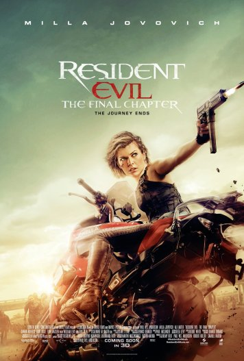 Resident Evil The Final Chapter Poster