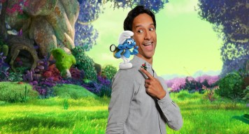 "Danny Pudi voices ""Brainy"" in Columbia Pictures and Sony Pictures Animation's SMURFS: THE LOST VILLAGE."