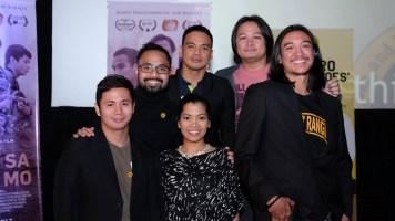 cast of ANG ARAW SA LIKOD MO - Mike Liwag, director Dom Nuesa, Bong Cabrera, Ping Medina, Ian Ignacio, Ruth Alferez_ _