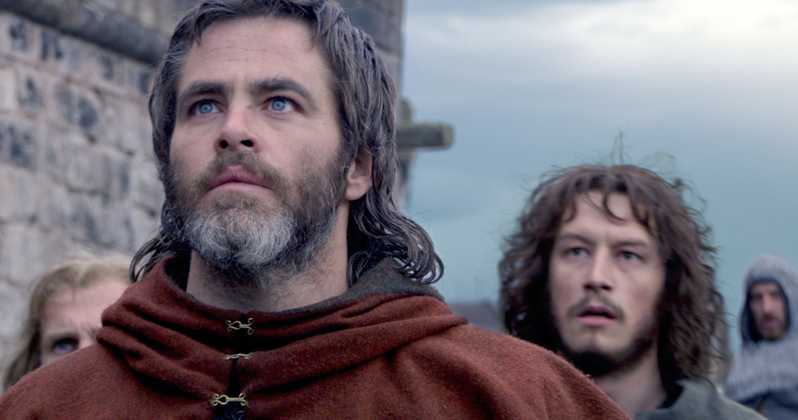 Chris Pine Stars in Netflix 'Braveheart' Sequel. Kinda.