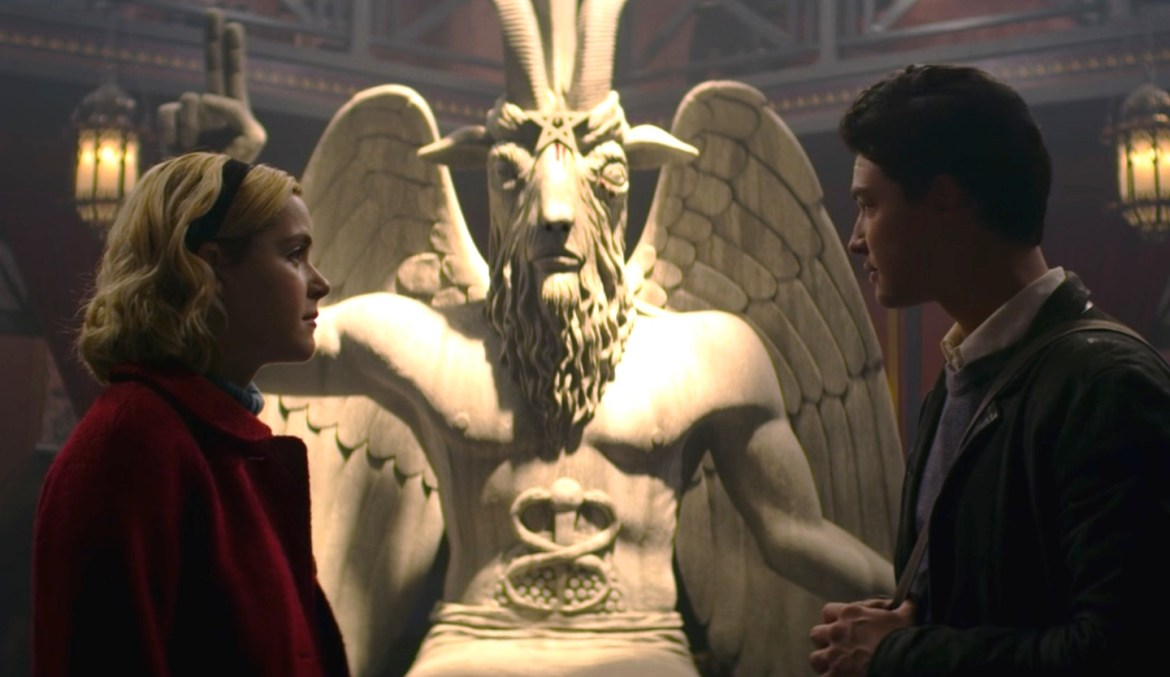 'The Chilling Adventures of Sabrina' is Being Sued by Satan