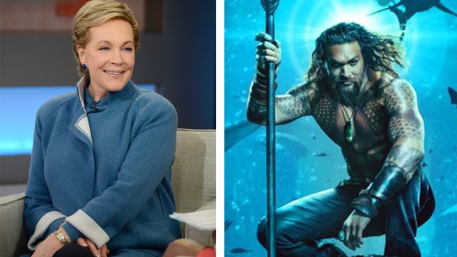 Julie Andrews Serves a Spoonful of Sugar to 'Aquaman'