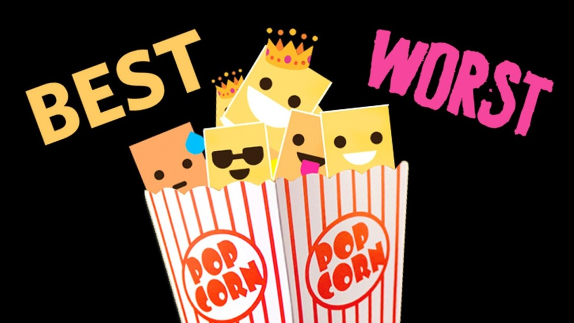 A-LIST | The Top 8 Best & Worst Movies of 2018