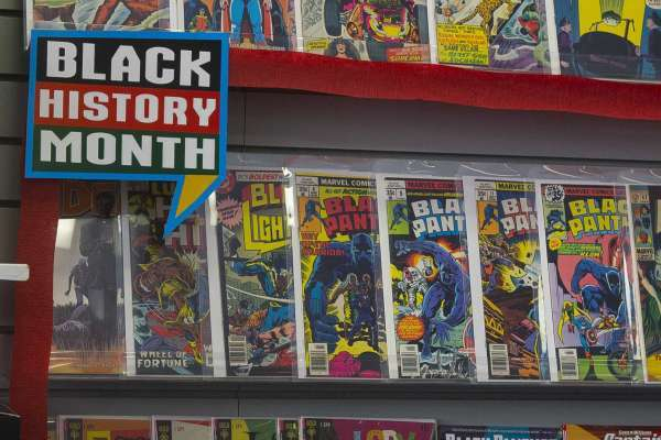 New Series: Black History Month Comic Profiles