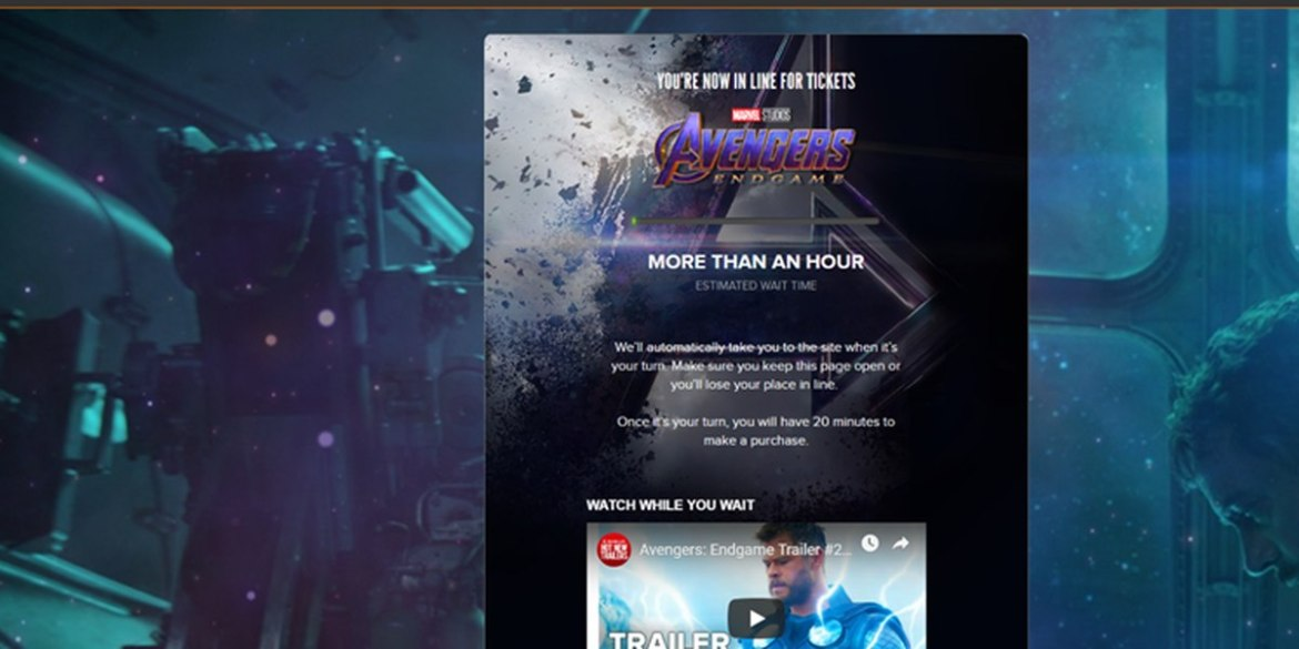"Avengers Created a Twitter ""Endgame"" for Ticket Sites Everywhere"