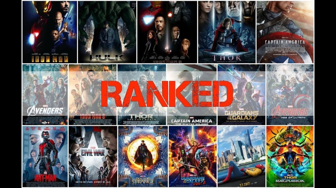 A-List | Ranking All Marvel Movies–In and Out of the Universe