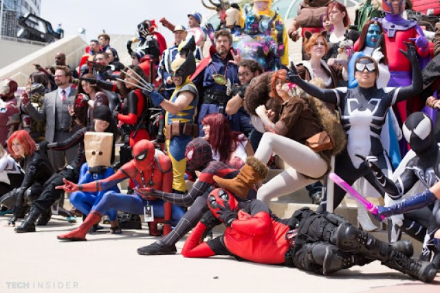 marvel cosplay