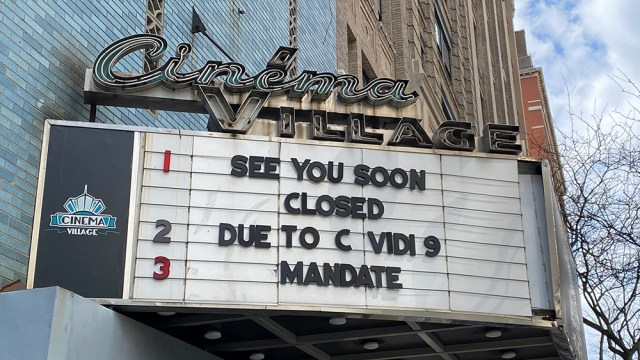Movie theaters closing due to COVID-19
