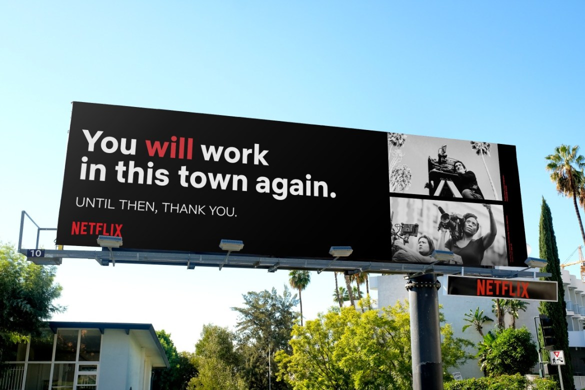 Netflix Advertising Campaign Pays It Forward for the Real People in Hollywood