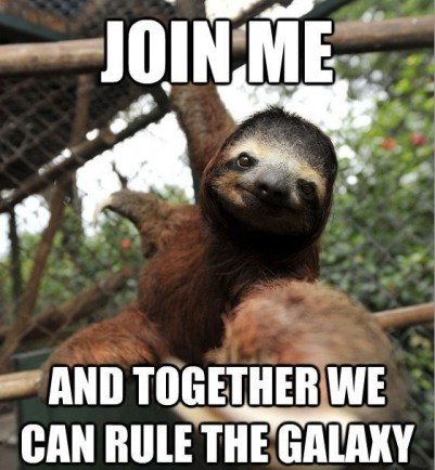 sloth empire meme