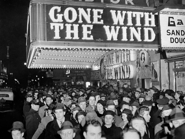 Gone With the Wind movie premiere, 1939