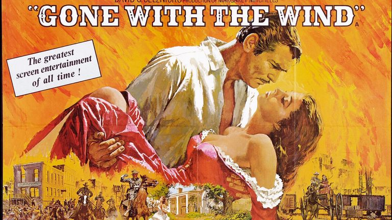 Another Movie is 'Gone With the Wind' from HBO Max Because Racism Blows