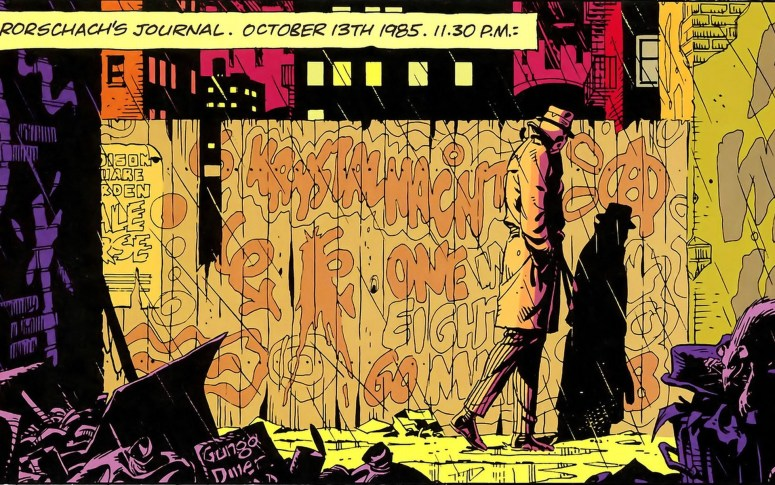 Watchmen would definitely be an R-rated animation.