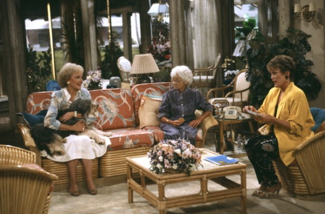 The Golden Girls living room