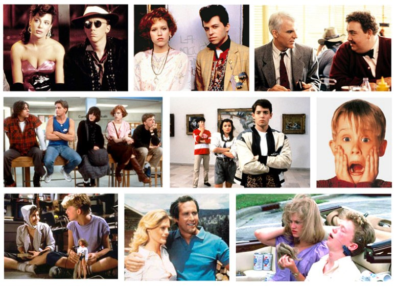 John Hughes movies filled the 1980s