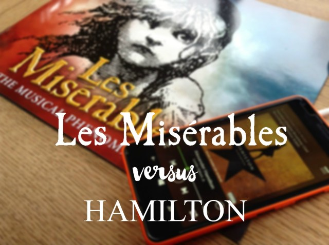 Les Miserables inspired Hamilton