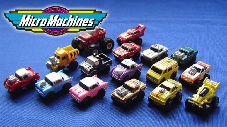 Micro Machines is another group of classic toys to become a great movie.