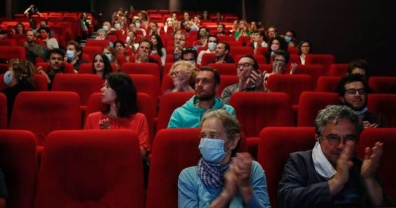 UK cinema fans now have to wear masks in theaters -- a month after employees petitioned