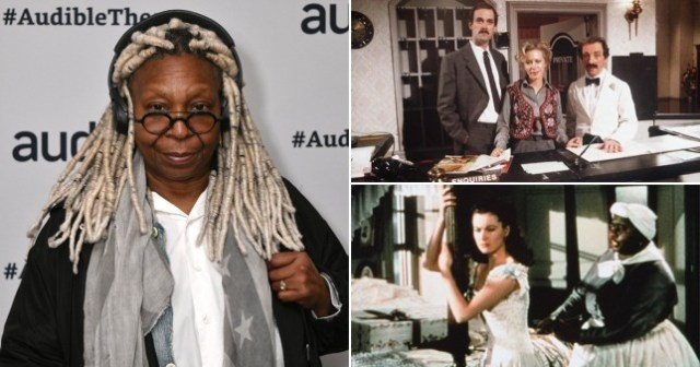 """Whoopi Goldberg believes removing racist scenes in movies and TV is """"ridiculous."""""""
