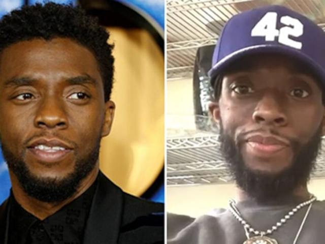 Chadwick Boseman created concerns over his weight loss.. Still no one knew it was cancer.