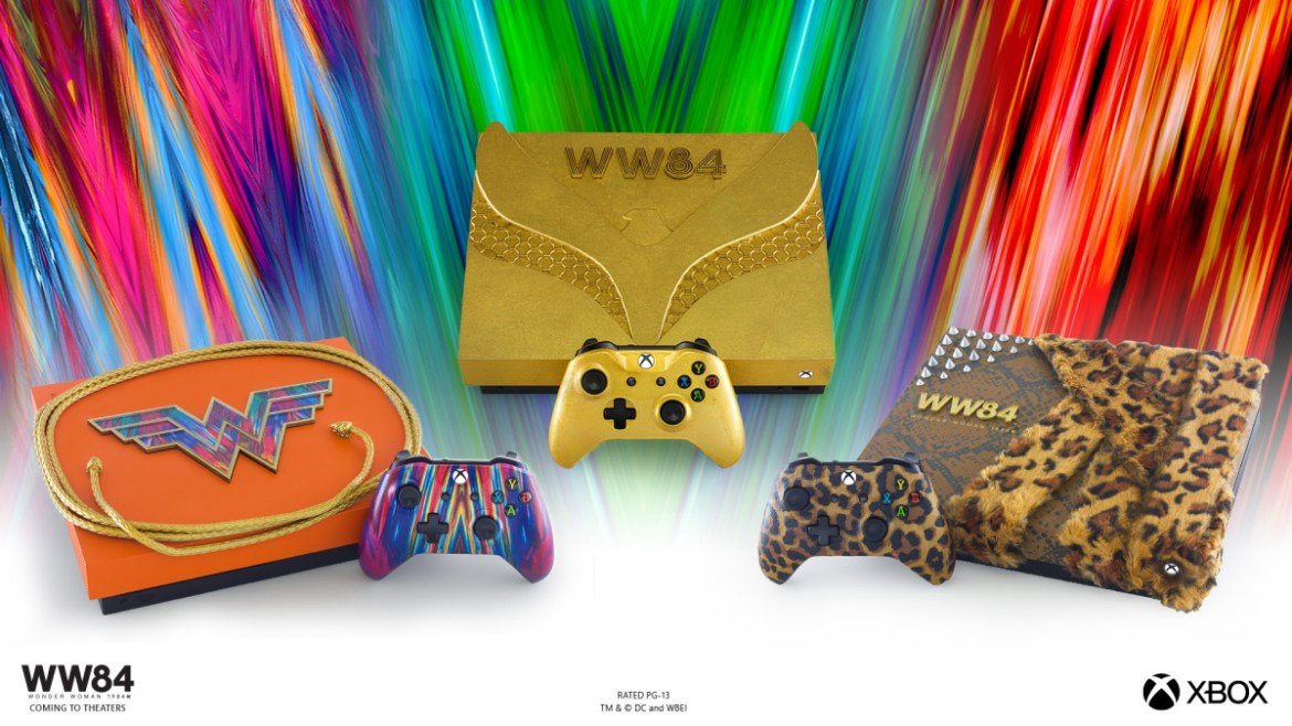 Microsoft Launches a WW84 Xbox Console for the Cosplay Gamer in You
