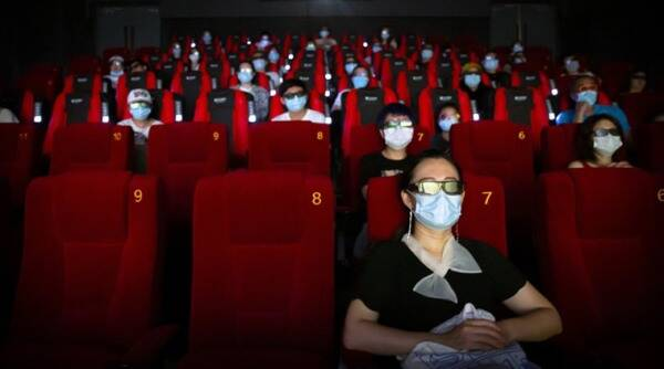 China and Japan have never beaten the US and UK in movie theater attendance...until now.
