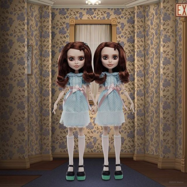 Monster High, by Mattel, has created the Grady Twins as some cute gift set for the holidays. Oh hell no.