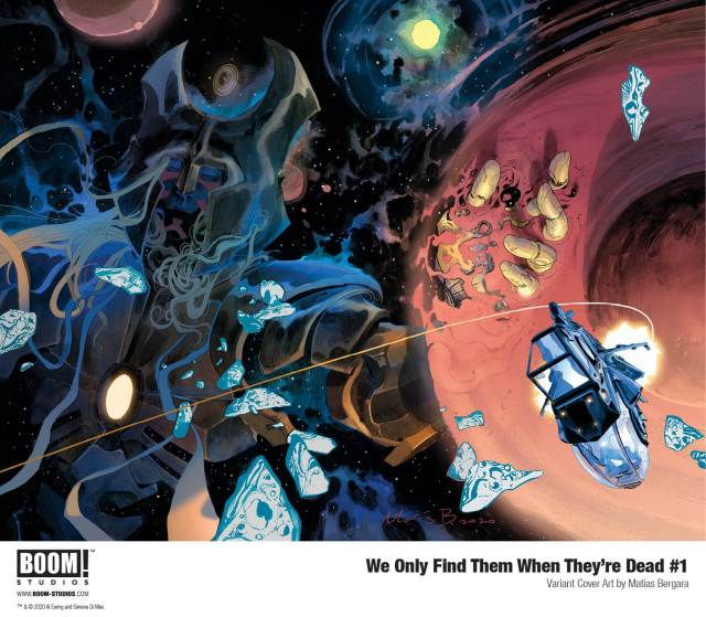 "BOOM! Studios new comic ""WE Only Find Them When They're Dead"" is worth the journey."