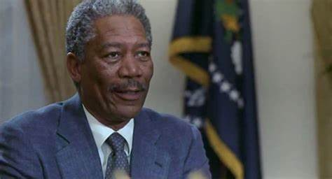 President Beck was a must on a list of great fictional presidents