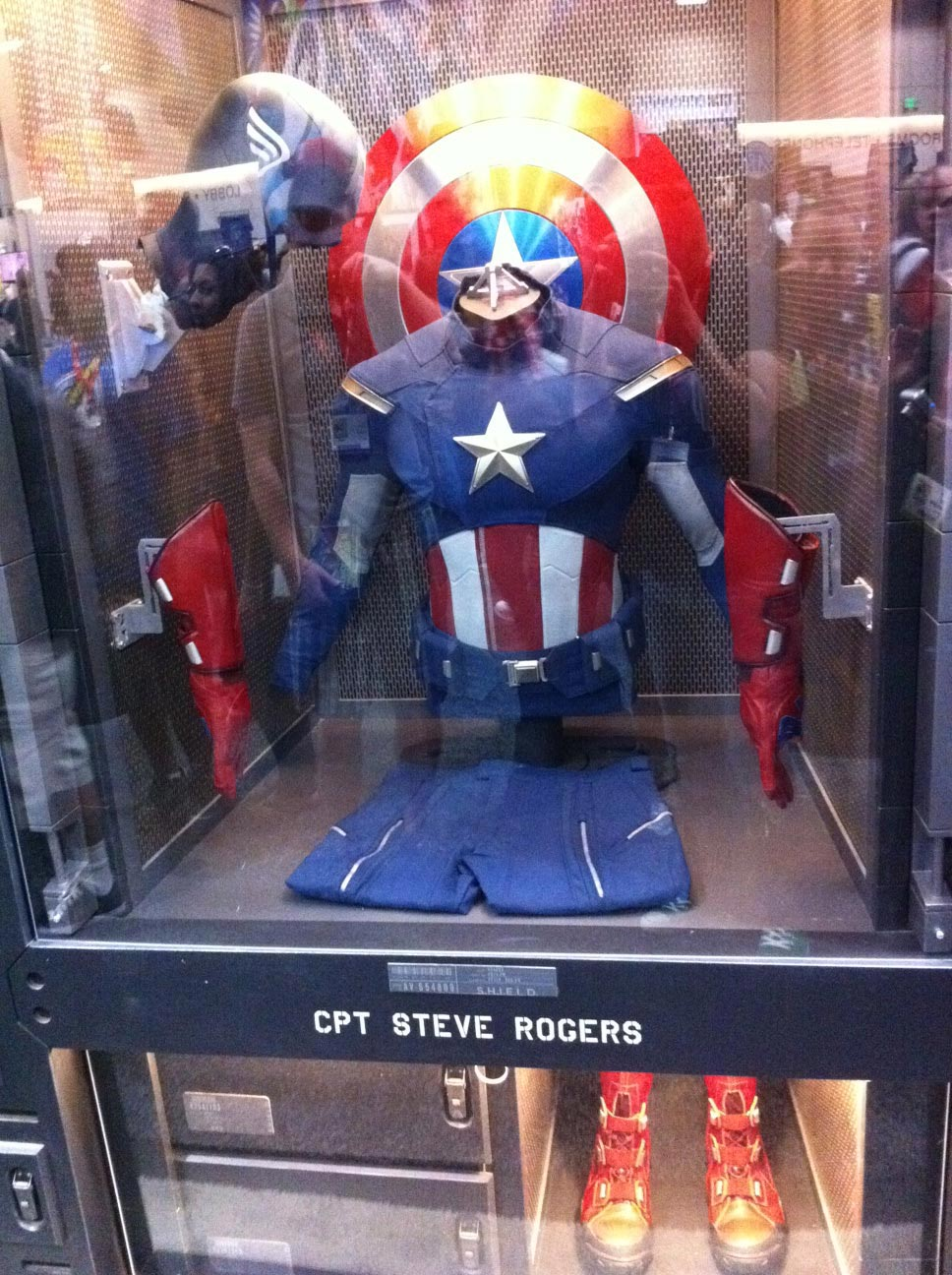 Capitan America outfit