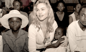 Madonna and African children