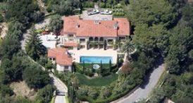 Gore's $9 mil dollar ocean-view villa in Montecito, CA.