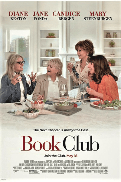 """book club"" movie poster"