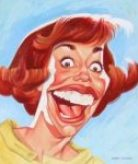 Carol Burnett charicature