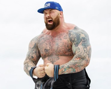 Hafór Jlus Björnsson, a Game of Thrones star, reveals his 110-pound weight loss and body transformation