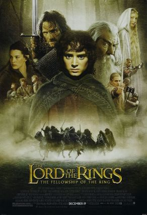 'Lord of the Rings: The Fellowship of the Ring' Poster