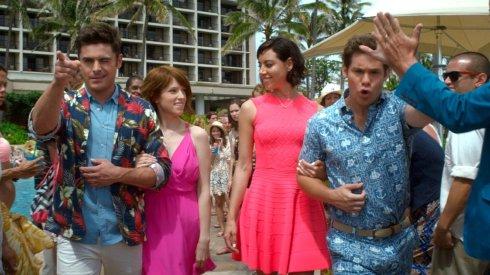 Zac Efron, Anna Kendrick, Aubrey Plaza & Adam Devine in Mike and Dve Need Wedding Dates