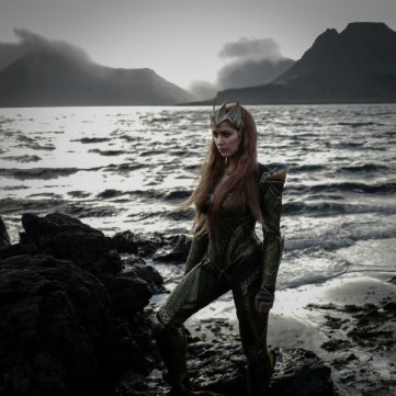 Amber Heard as Mera in Justice League