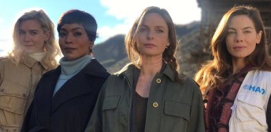 Vanessa Kirby, Angela Basset, Rebecca Ferguson & Michelle Monaghan in Mission: Impossible 6