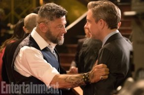 Andy Serkis & Martin Freeman in Black Panther