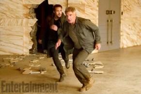 Ryan Gosling & Harrison Ford in Blade Runner 2049